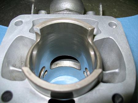 Kawasaki Kmx  Cylinder Barrel