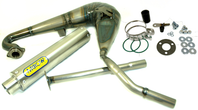 Kdx 125 Exhaust sc 125 Arrow Race Exhaust