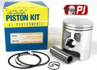 Kawasaki KMX 125 Top End Rebuild Piston Rings Small End Bearing Gasket Kmx125