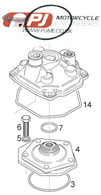 Rotax Max Engine Parts Max 125 Piston Rotax Max Big Bore Kit