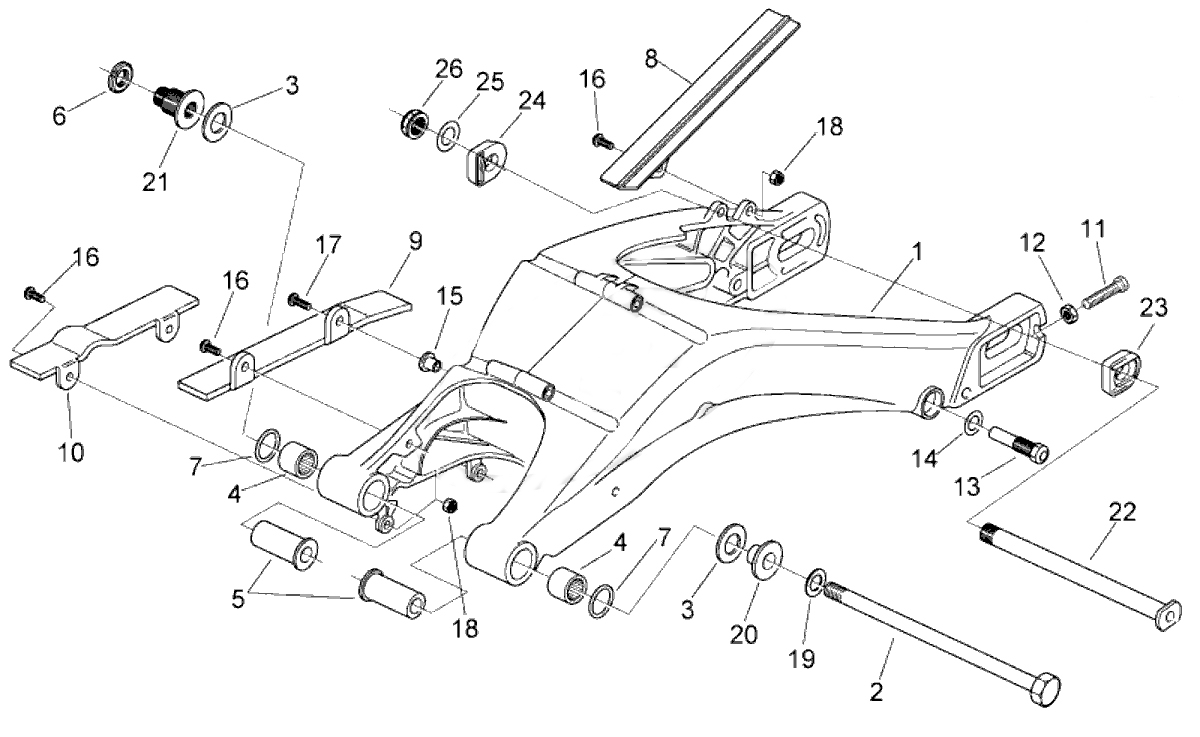 ktm linkage swing arm schematic