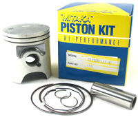 Piston Rings Pin Clips Set Kit For Yamaha TZR250 TZR 250 3MA STD Bore Size 56mm