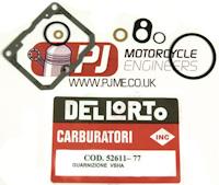 Aprilia RS125 VHSB 34 Carburettor Parts