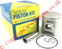 Yamaha YZ125 Piston Kit YZ 125 Gaskets Small End Bearing