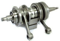 Yamaha RD250LC Complete Crankshaft Assembly